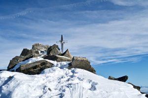 Zuckerhütl Gipfelkreuz