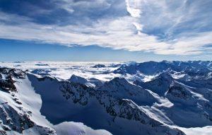 Fernblick nach Südtirol