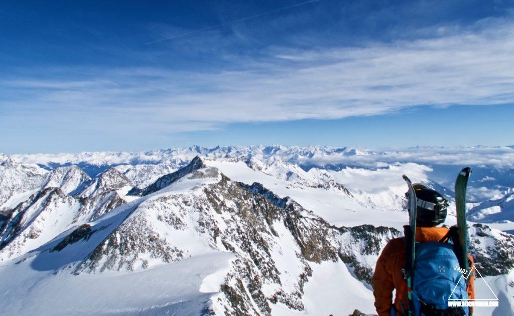 Zuckerhütl Gipfelblick