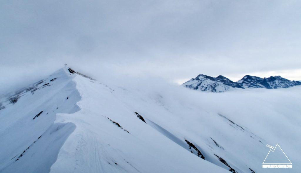 Gipfel Naviser Kreuzjöchl
