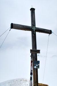 Gipfelkreuz Naviser Kreuzjöchl