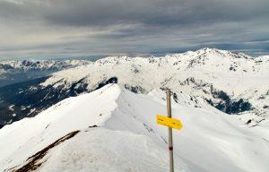 Gipfelblick Naviser Kreuzjöchl