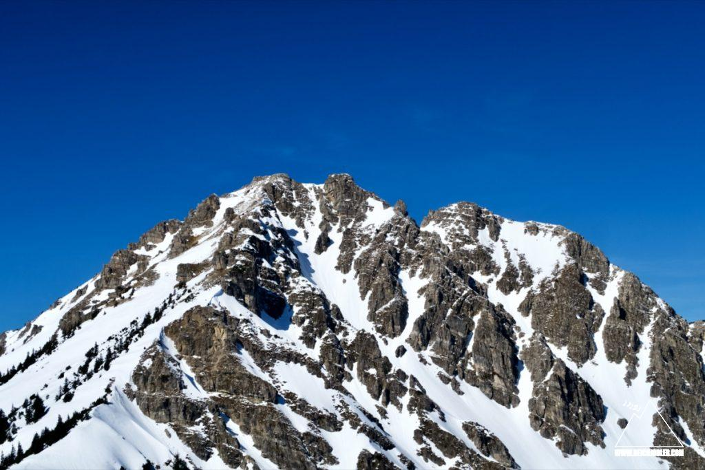 Ponten Gipfelaufbau