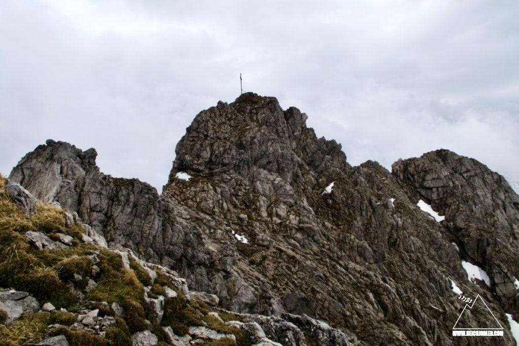 Rauhhorn Gipfelaufbau