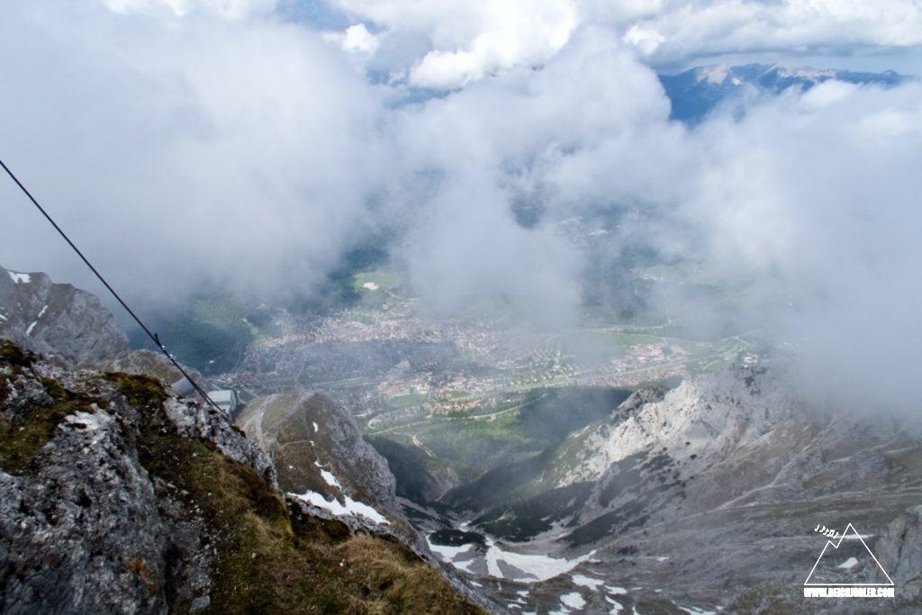 Gipfelblick Westliche Karwendelspitze