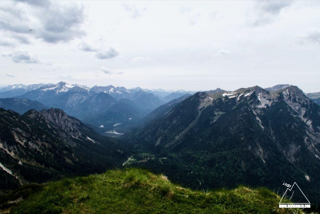 Hirschbichel Gipfelaussicht