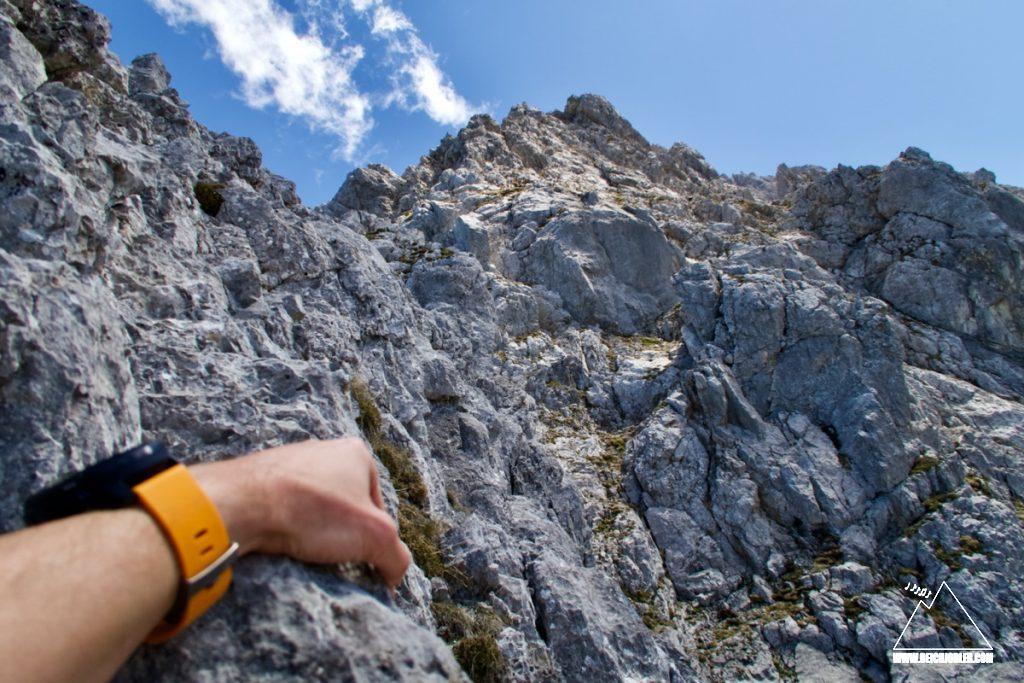 Tiefkarspitze NW-Grat