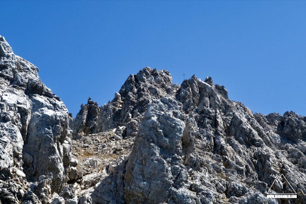 Tiefkarspitze Gipfel