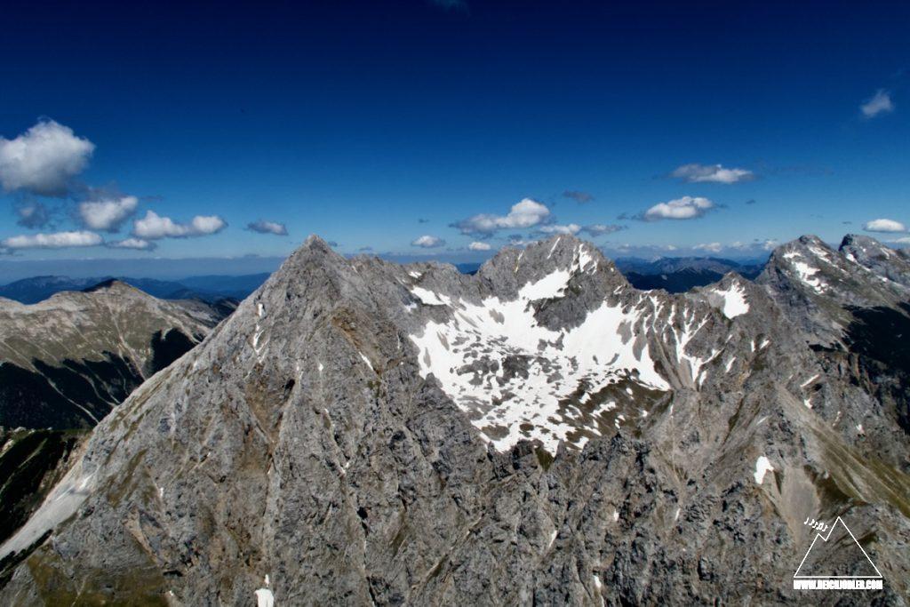 Wörner bis Östliche Karwendelspitze