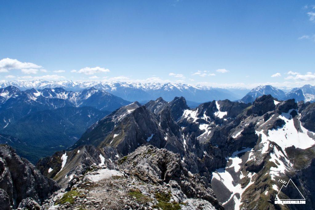 Larchetfleckpsitzen und Mittenwalder Höhenweg