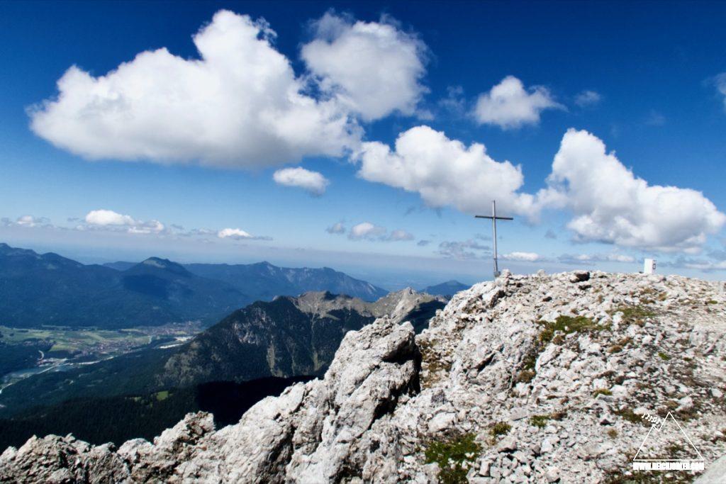 Tiefkarspitze Gipfelkreuz
