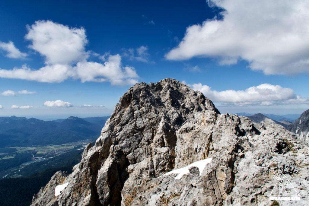 Gipfelaufbau Tiefkarspitze