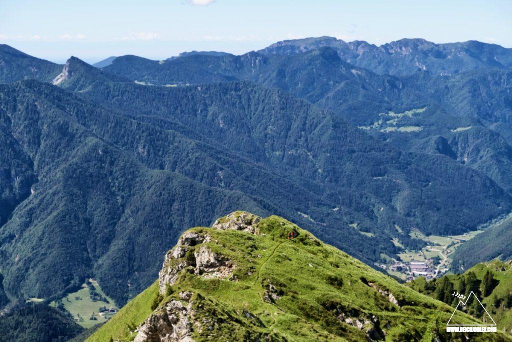 Monte Cadria Südgrat