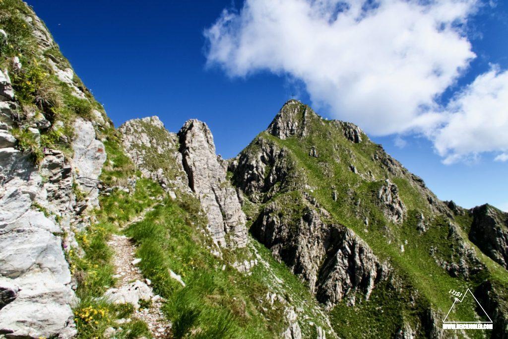 Monte Cadria Gipfel
