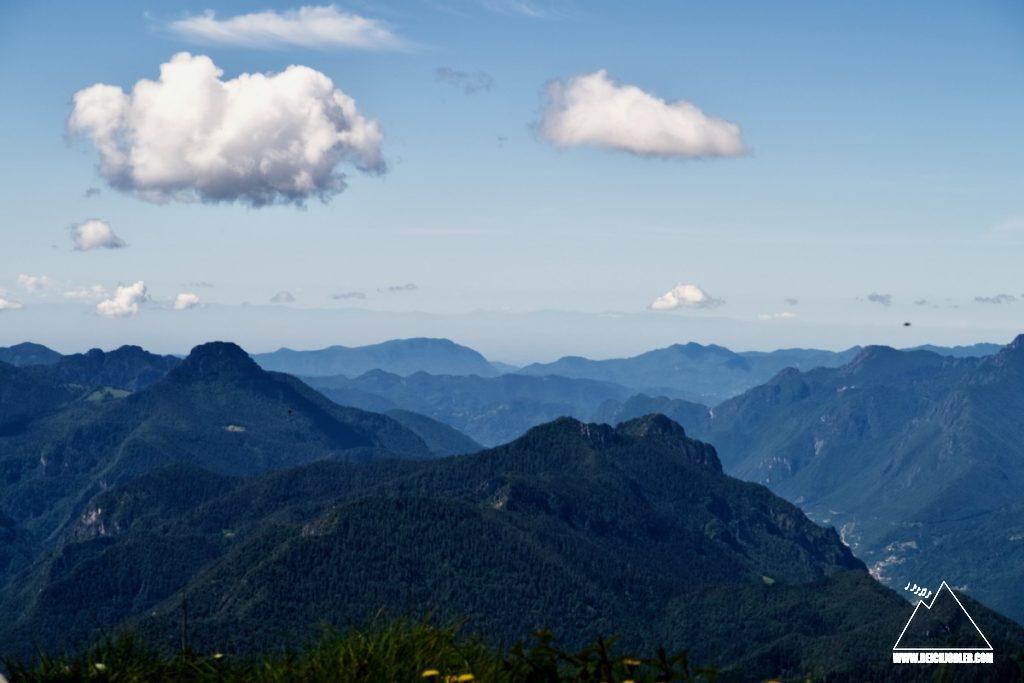 Monte Cadria Gipfelaussicht