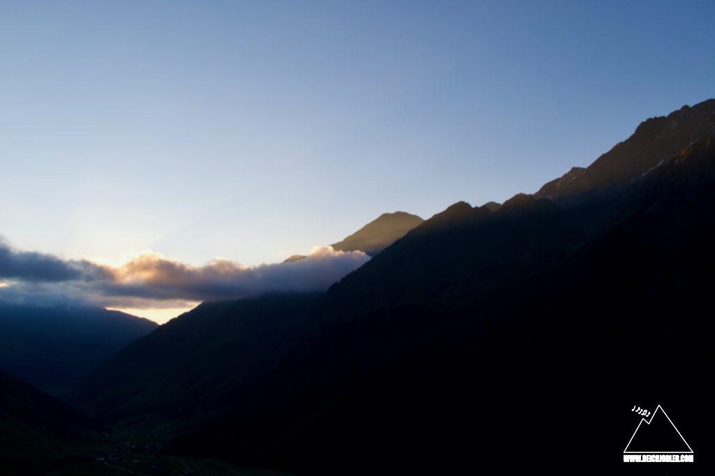 Morgen in den Stubaier Alpen