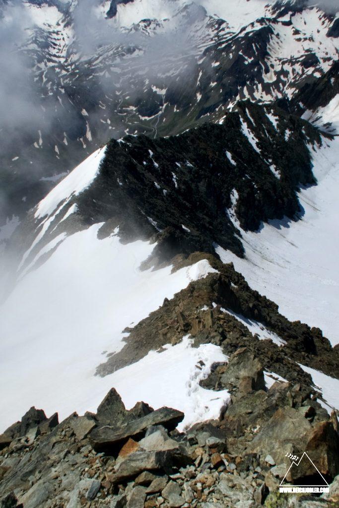Ruderhofspitze SSW-Grat