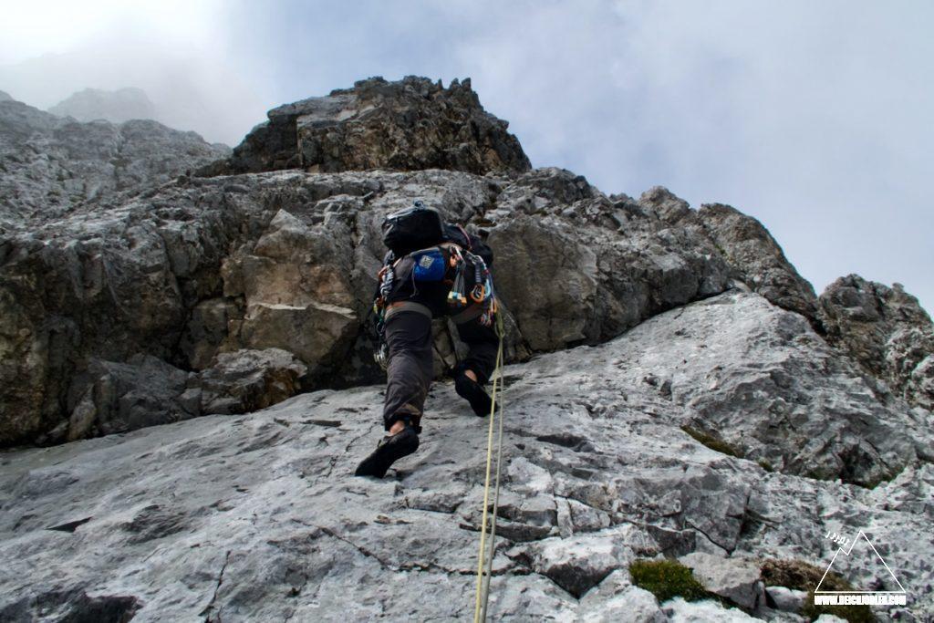 Lamsenspitze Klettern