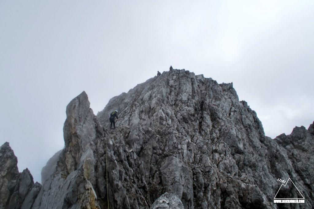Lamsenspitze Gipfel