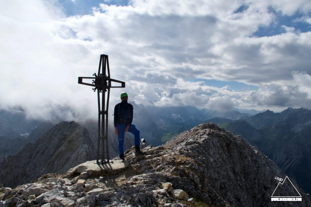 Lamsenspitze Gipfelkreuz