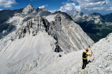 Abstieg Moserkarspitze