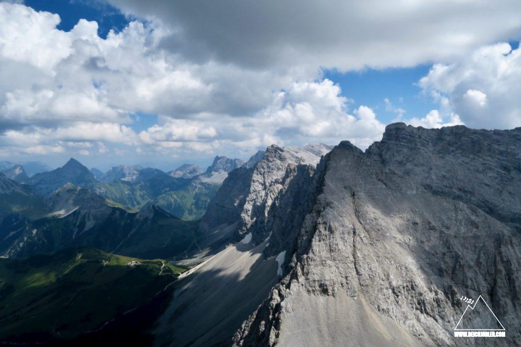 Moserkarspitze und Laliderer Wände