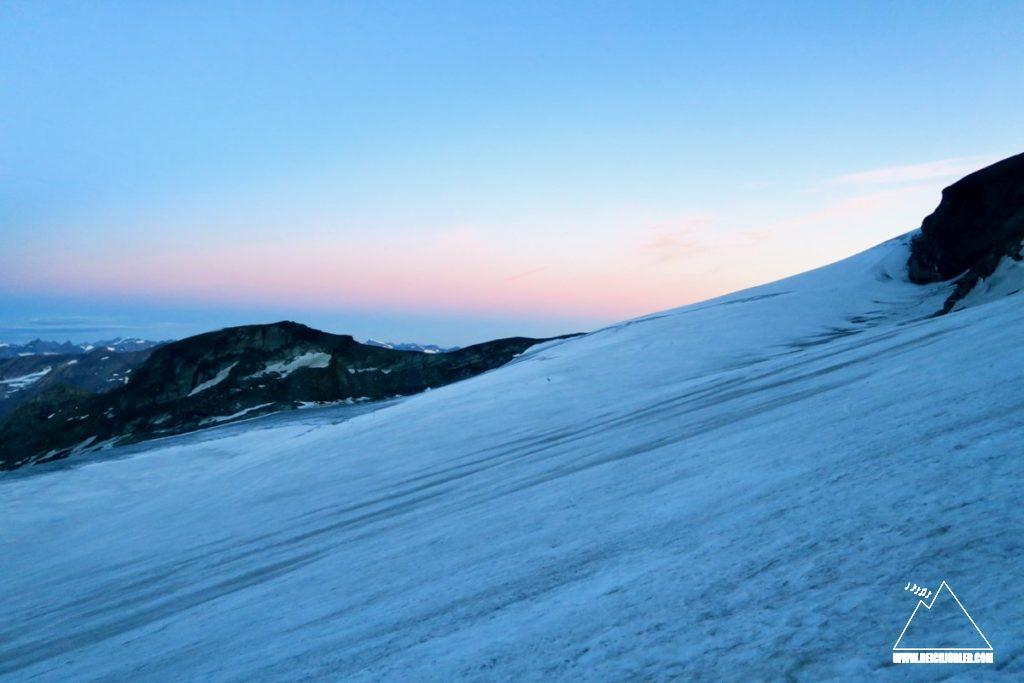 Sonnenaufgang am Teischnitzkees