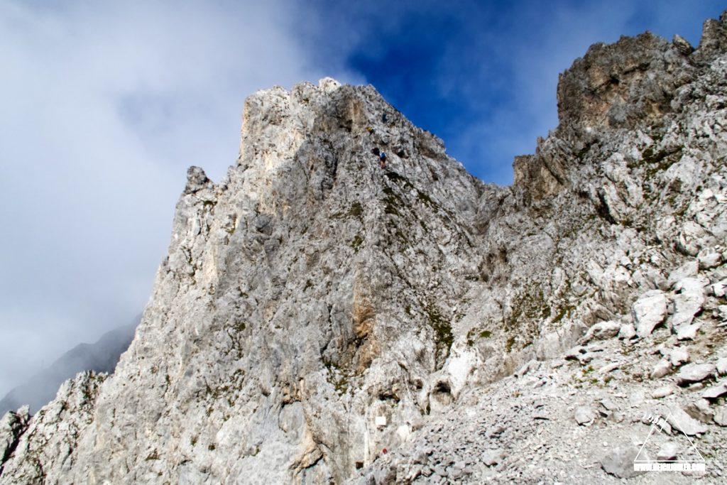 Einstieg Innsbrucker Klettersteig