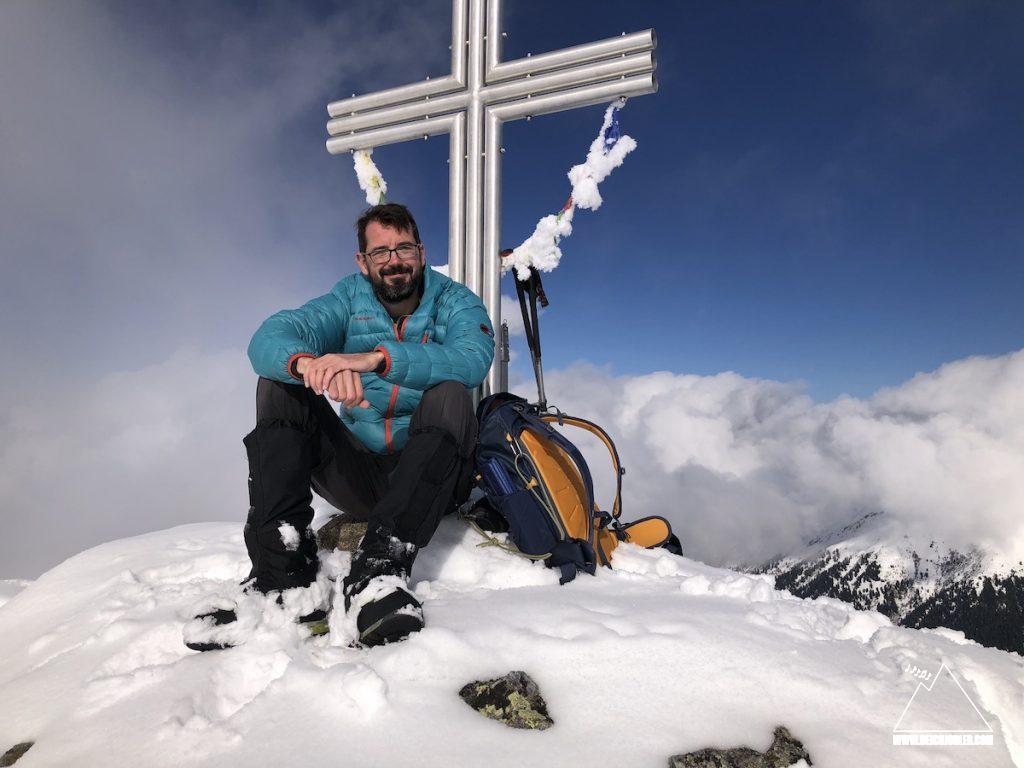 Gipfel Angerbergkopf