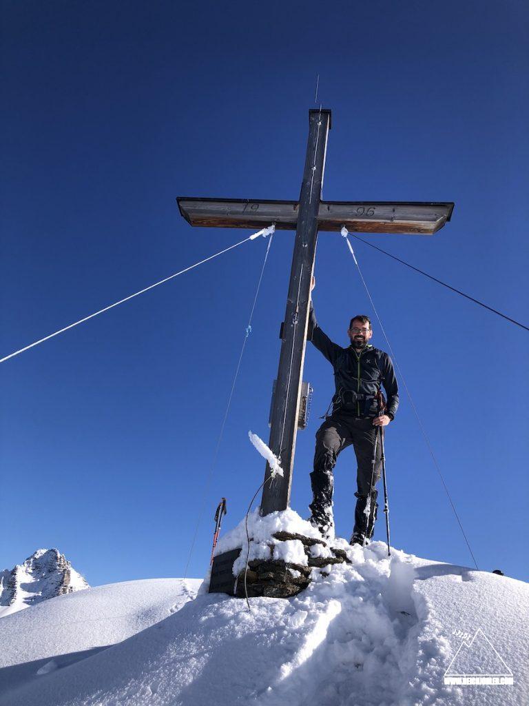 Gipfelkreuz Schaflegerkogel