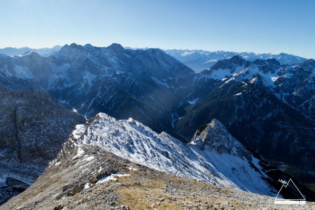 Gipfelgrat Hoher Gleirsch