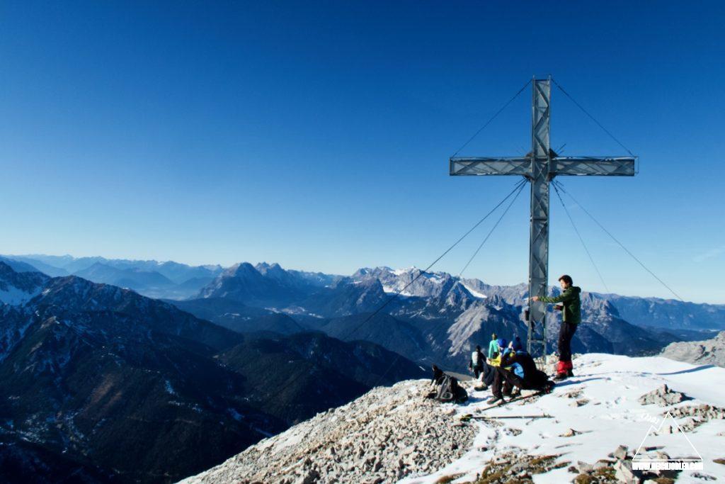 Gipfelkreuz Hoher Gleirsch