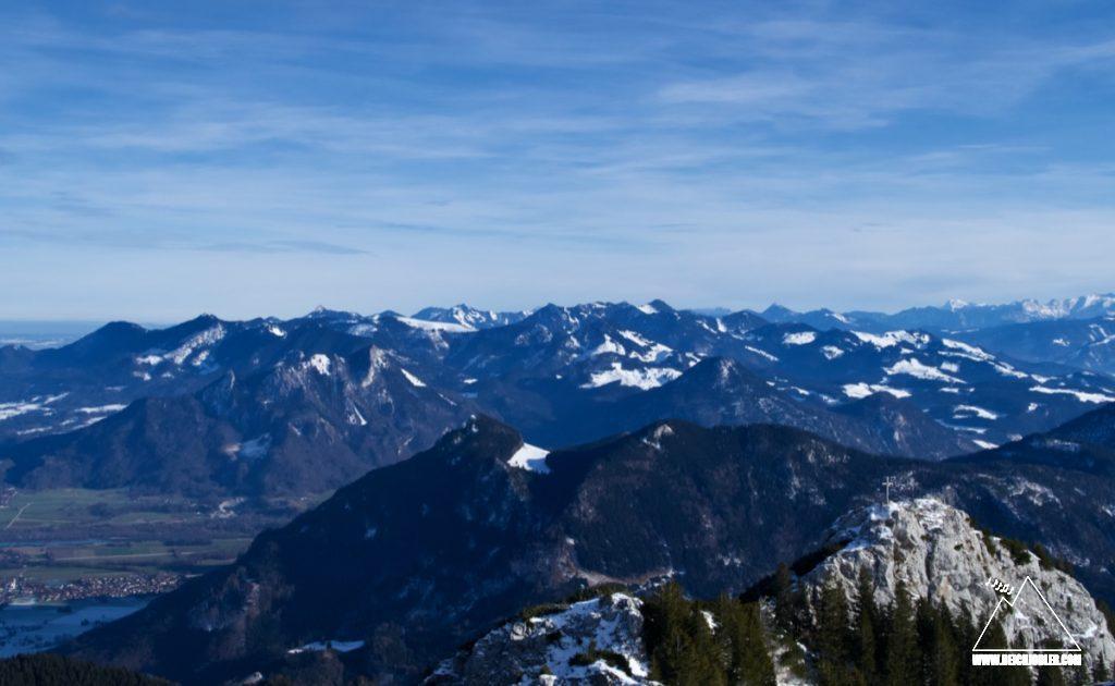 Gipfelblick Wildalpjoch