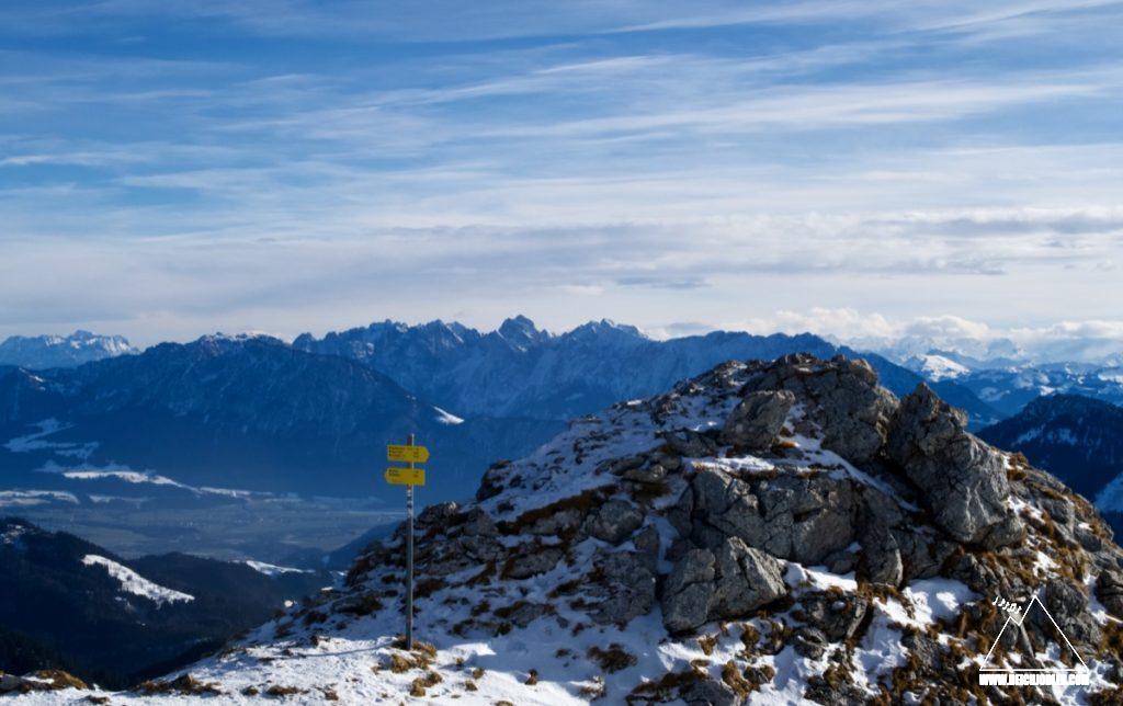 Gipfel Wildalpjoch