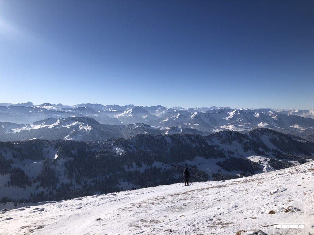 Gipfelblick Hochgrat