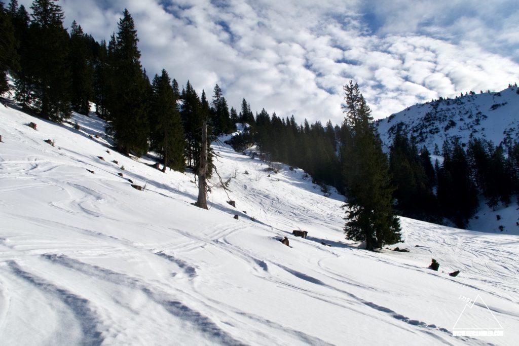 Aufstieg Röthenstein