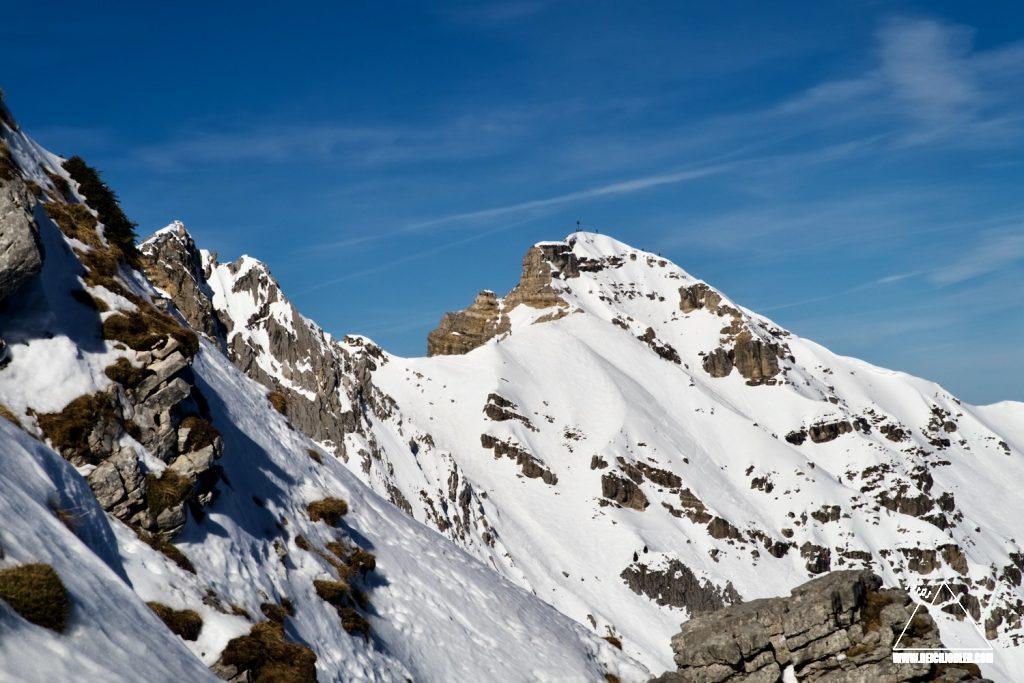 Gipfel Schöttelkarspitze