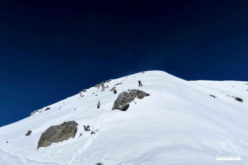Aufstieg Soiernspitze