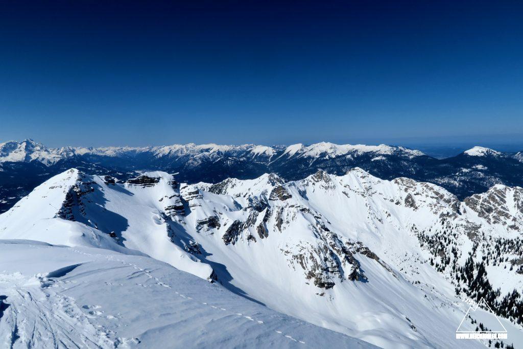 Soiernspitze Gipfelblick