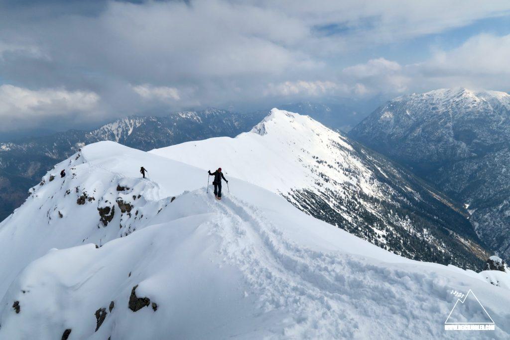 Gipfelgrat Kreuspitze