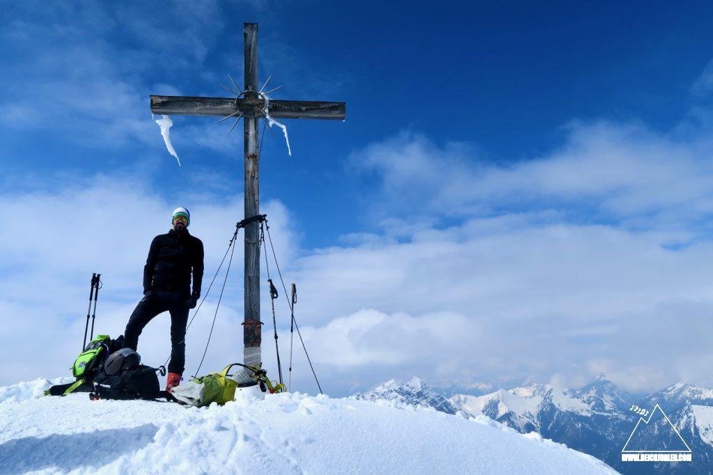 Gipfelfoto Kreuzspitze