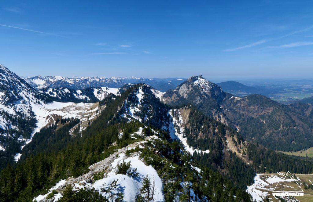 Gipfelblick Hochsalwand