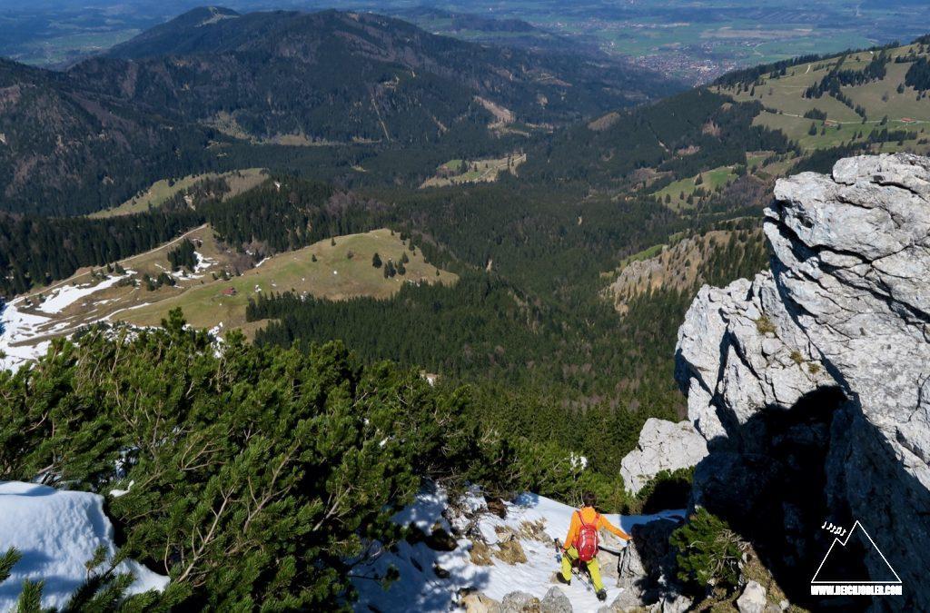 Abstieg Hochsalwand