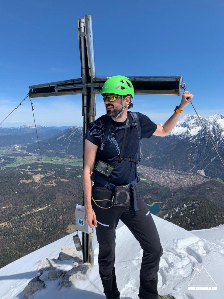 Gipfel Untere Wettersteinspitze