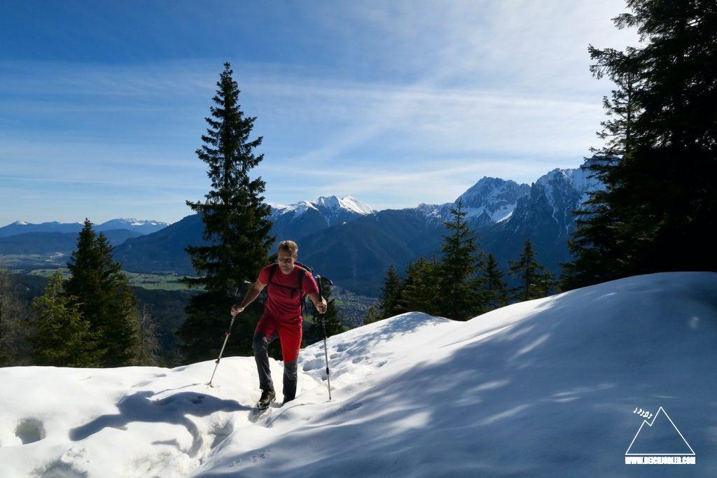 Aufstieg Grünkopf