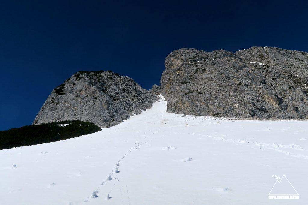 Untere Wettersteinspitze Ostrinne