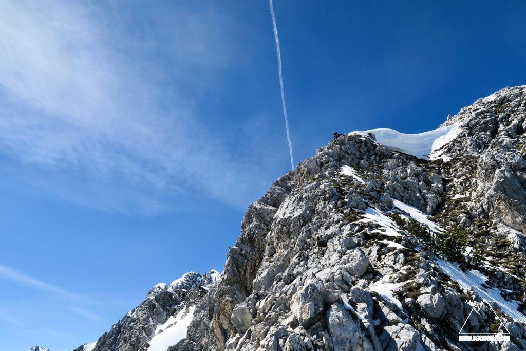 Abstieg Untere Wettersteinspitze