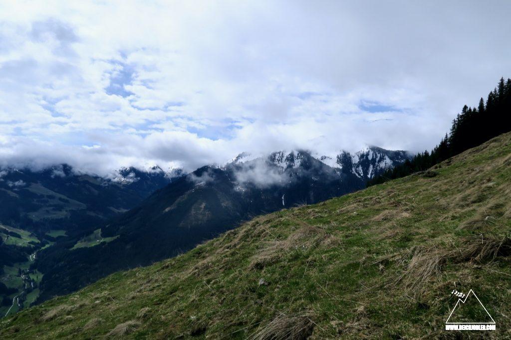 Anstieg Schwaigberghorn
