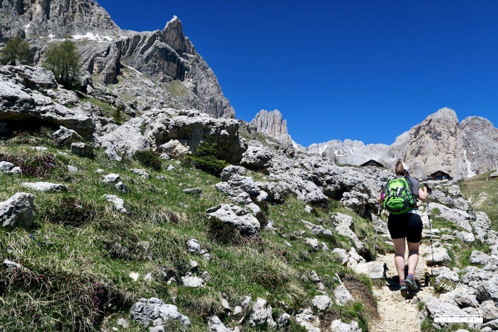 Aufstieg Rotwandhütte