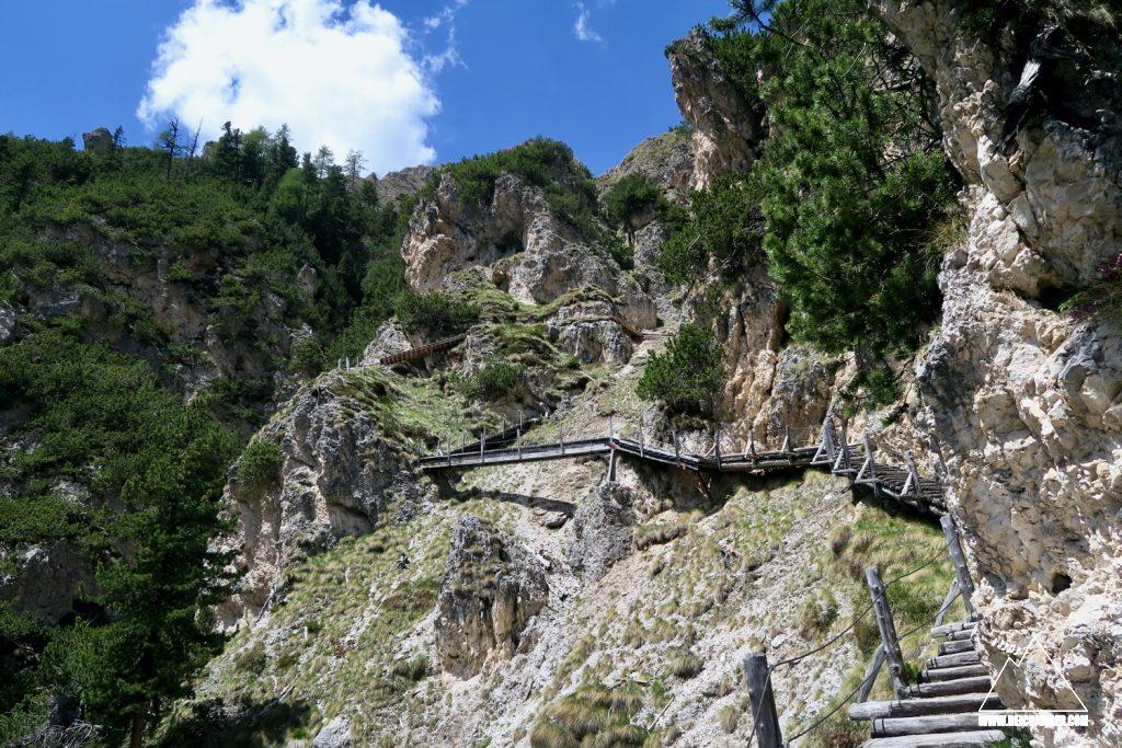 Treppen Bärenfalle